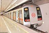 metro train in delhi